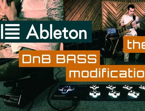 DnB Bass Guitar – Ableton Live